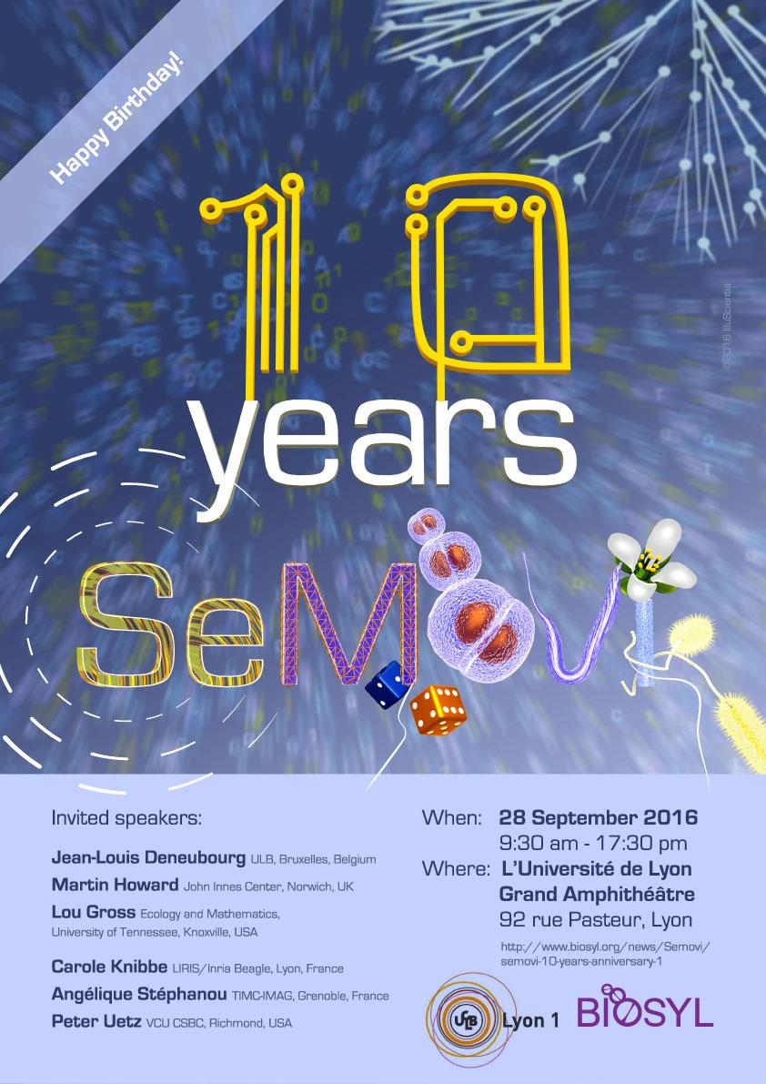 SeMoVi - 10 years anniversary in video — BioSyL - Réseau de Biologie  Systémique de l Université de Lyon e72ff4d1ed8