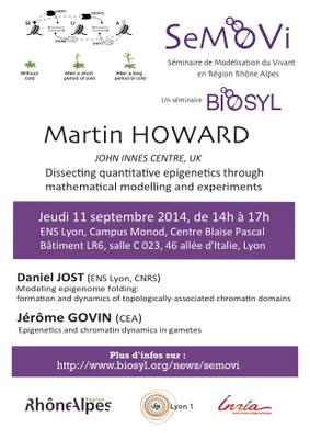 SeMoVi Seminar, Sept 11, Lyon